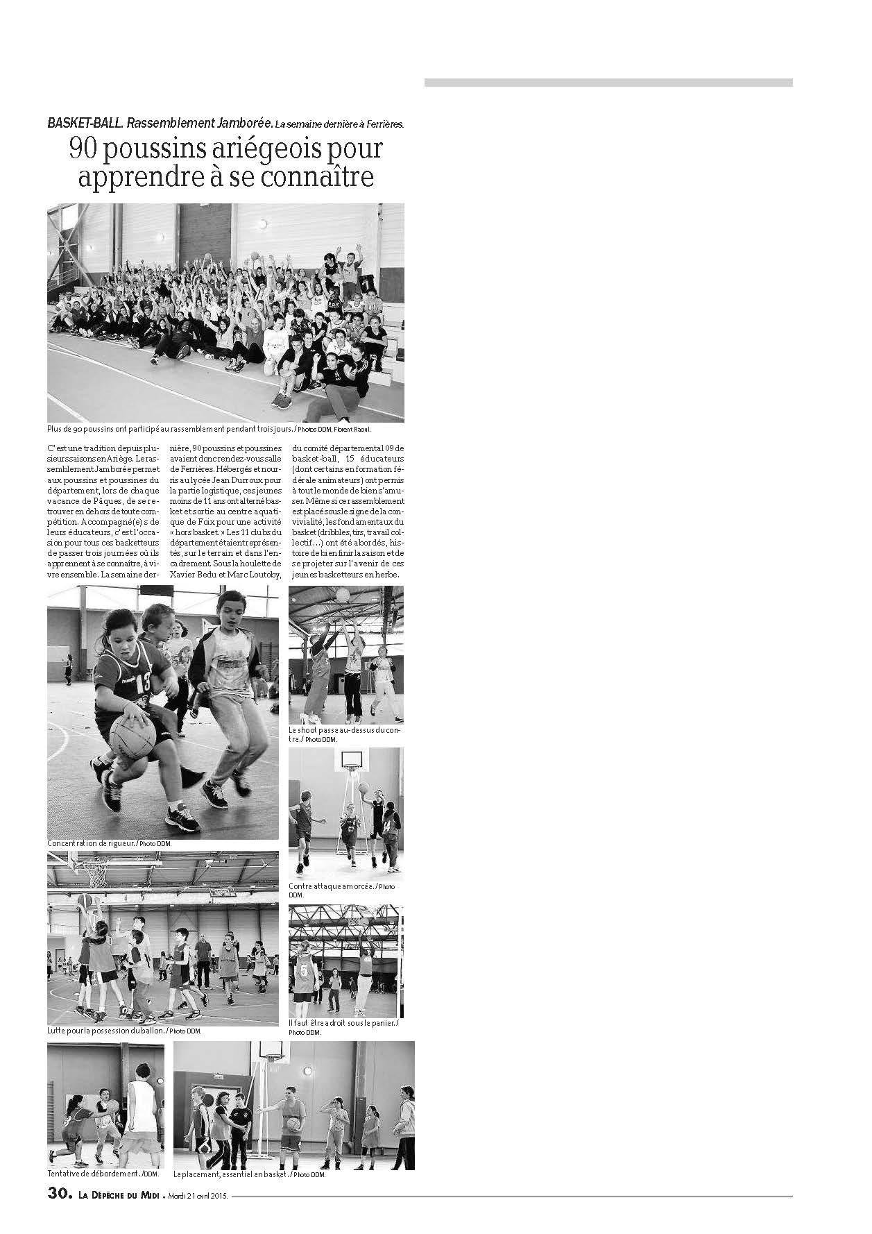 Article DDM Jamborée 2015